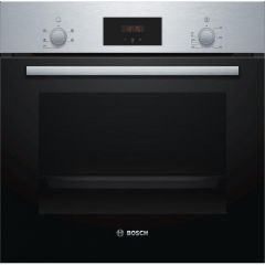 Bosch HHF113BR0B Built In Electric Single Oven with 3D Hot Air S/S