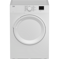 Beko DTLV70041W 7Kg Vented Dryer Beko White New