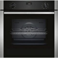 Neff B1ACE4HN0B 60Cm Built In Single Oven Rotary Dials LCD Display