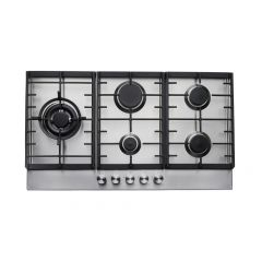Teknix SCGH91X Gas Hob 90 cm  Stainless Steel